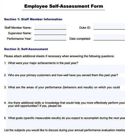 Writing evaluations on your staff brief but direct overview