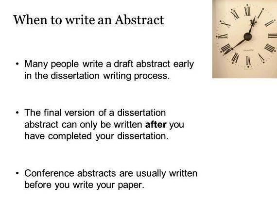 Dissertation first draft