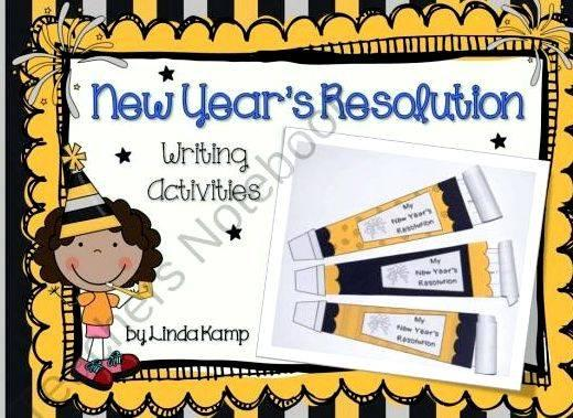 Writing new years resolutions your students with which you can either write