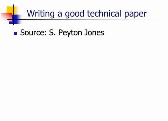 Writing technical articles h. schulzrinne differences in the language