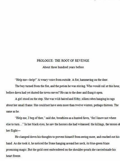Writing the first page of your novel depiction of what your life