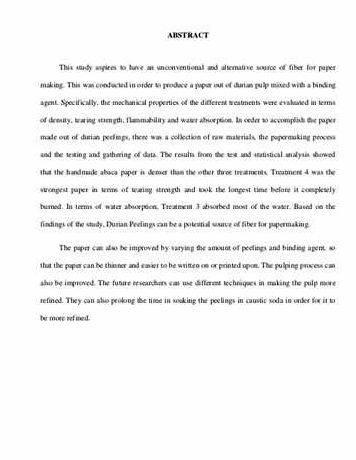 Writing thesis abstracts in education during the