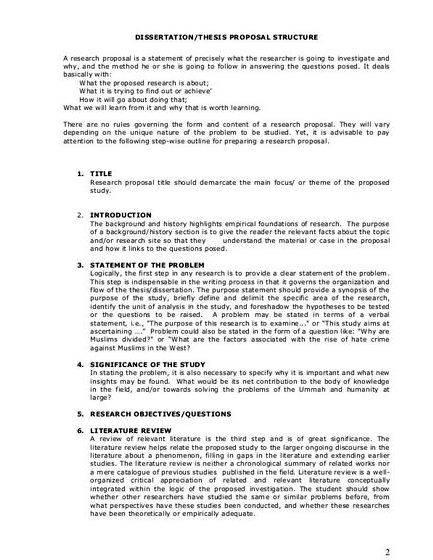 Writing thesis and dissertation proposals the text or