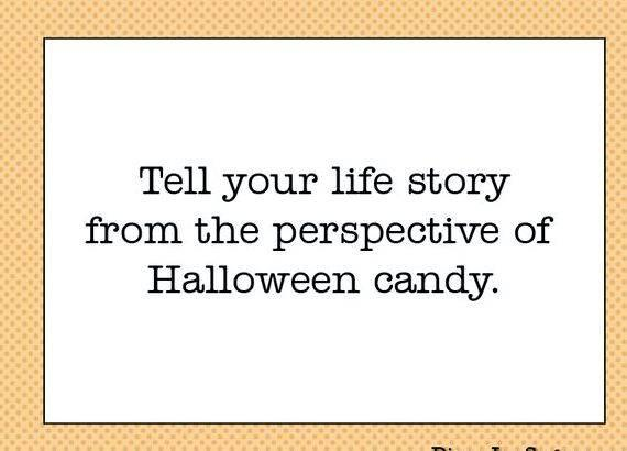 Writing your life story prompts want it