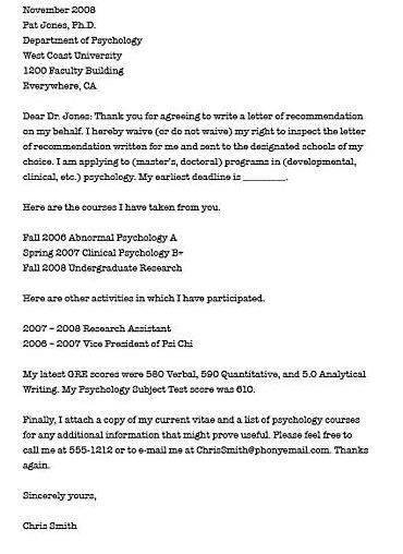 Writing your own letter of recommendation for law school applicants to provide professors with