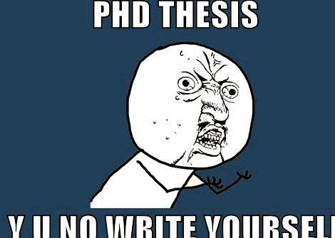 Phd thesis database