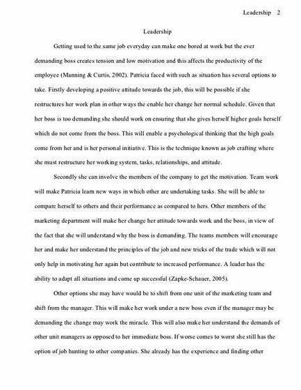 Writing your thesis outline leaders tells the reader how and